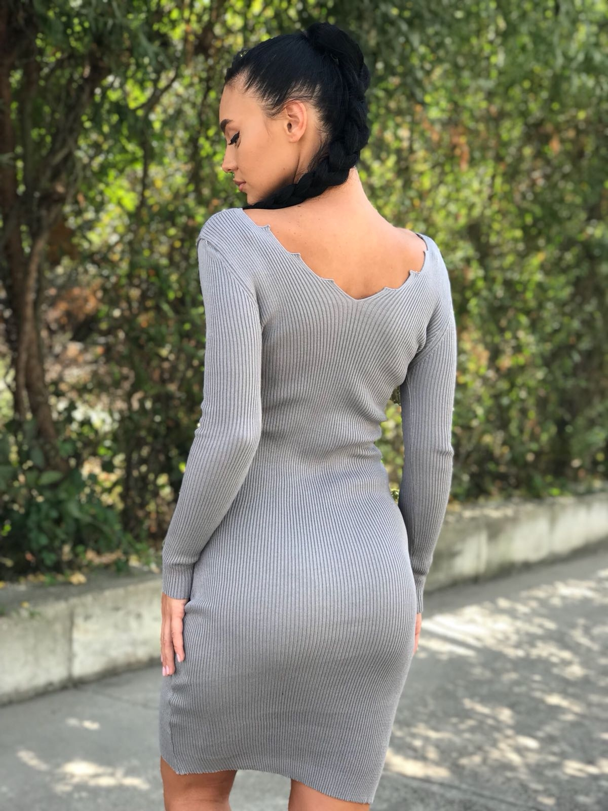 ROCHIE DIN TRICOT FASHIMO COD : 2219