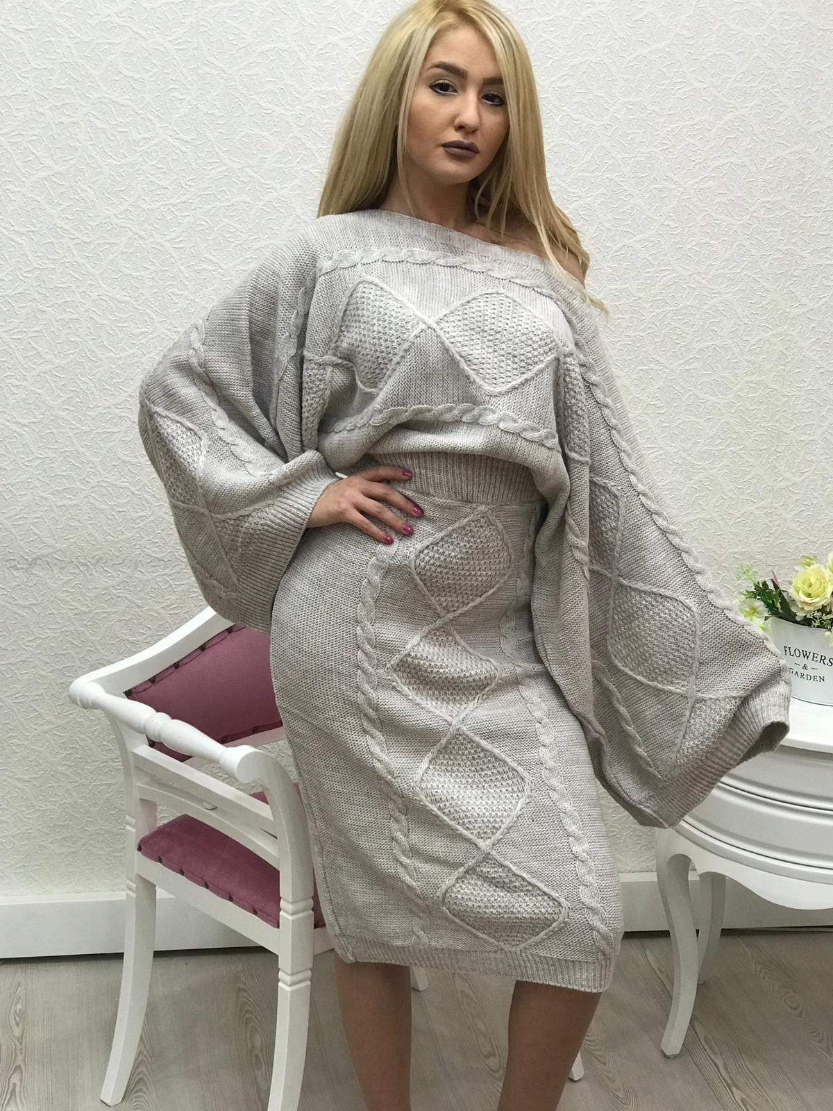 COMPLEU DIN TRICOT BY FASHIMO COD : 2633