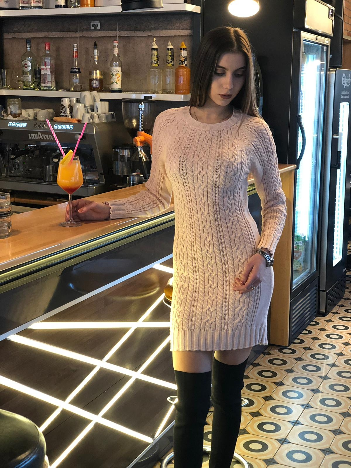 ROCHIE DIN TRICOT FASHIMO COD : 2673 X
